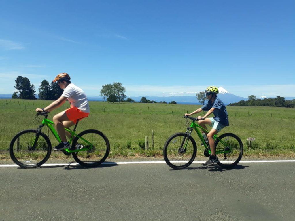 bike and rafting - pedaleando